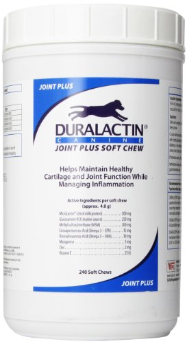 Veterinary Products Laboratories Duralactin Joint Plus Soft Chews, 240-Count (Discontinued by Manufacturer)