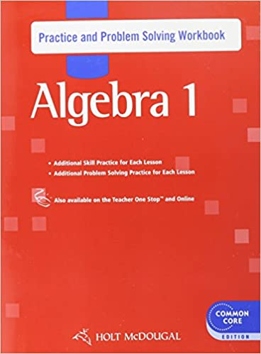 Amazon holt mcdougal algebra 1 practice and problem solving holt mcdougal algebra 1 practice and problem solving workbook 0th edition fandeluxe Choice Image