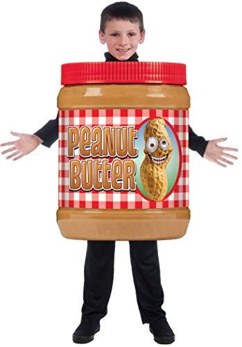 Peanut Butter Costume (Forum Novelties Child's Photo-Real Peanut Butter Costume, One)