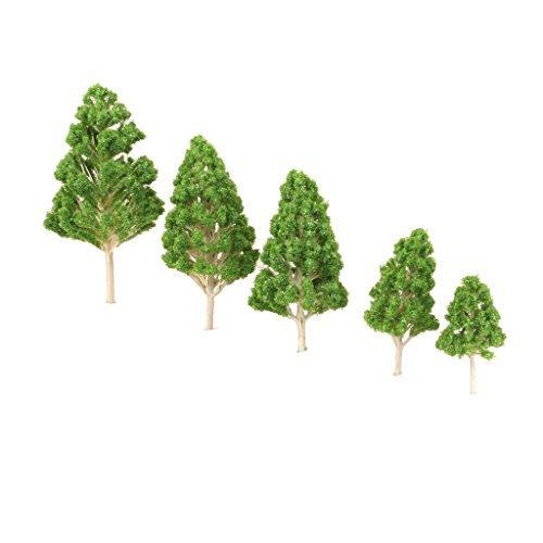 no-brand-goods-clinique-green-model-tree-1-75-1-200-railway-landscape-model-supplies-train-railway