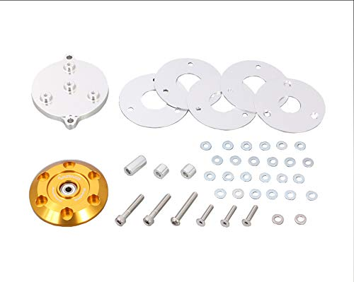 キタコ (KITACO) スピナーヘッドサイドカバー (ゴールド) モンキー125(JB02)、グロム(JC61/75) 310-1300170  ゴールド B07N4172RQ