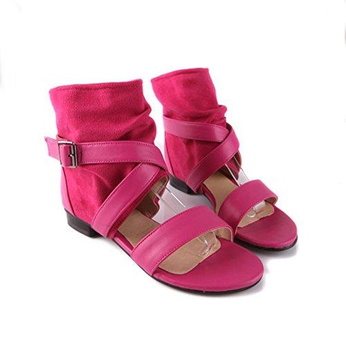 SK Studio - Zapatos con tacón Mujer Rojo