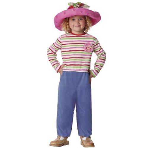 Strawberry Shortcake Costume - Toddler Large 4T-6T (Strawberry Shortcake Hat)