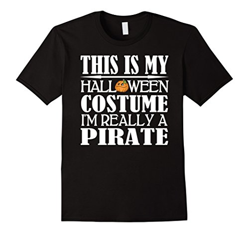 Mens Pirate Halloween Costume Shirt - Men Women Youth Sizes XL Black - Female Pirate Costumes Ideas
