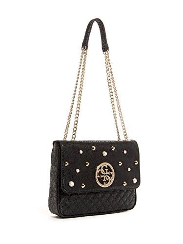 GUESS Black Mini Embellished Crossbody Gioia qBqwxnaprf