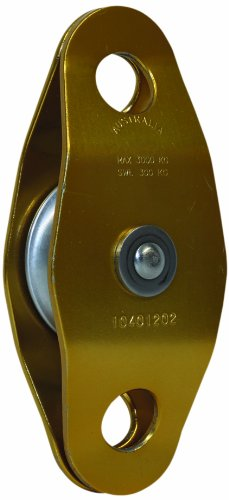 [3M DBI-SALA Rollgliss Technical Rescue 8700021 Single Sheave Double Ended, 50MM Diameter Rigging Pulley, Aluminum, 2