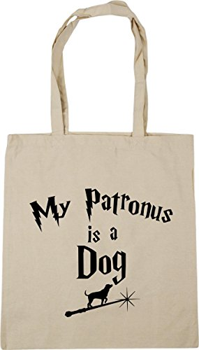 Bag Patronus x38cm HippoWarehouse Gym 42cm Dog Shopping My 10 Beach A Tote Natural Is litres 51qxzwC1