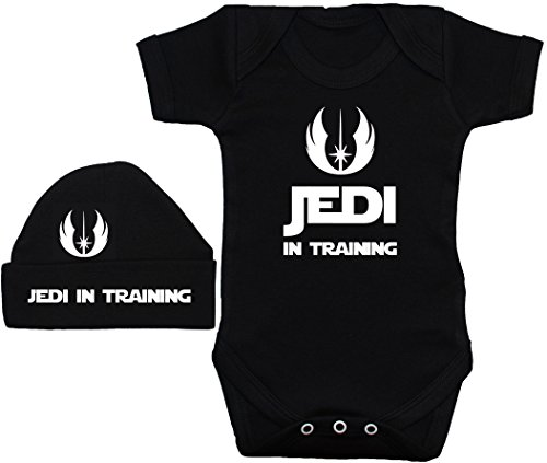 t 12 Baby Motif amp; Wars Star Mois Training Vest Noir Acce In À Jedi Beenie shirt casquette Chapeau 0 Body SfYqYw