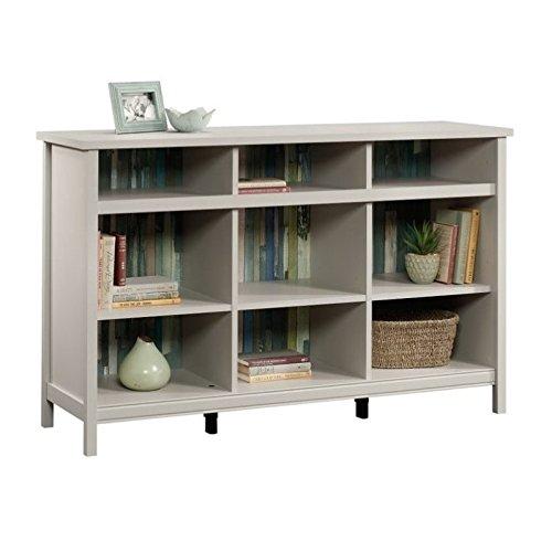 Sauder Adept Storage Credenza, Cobblestone finish (Cobblestone Bookshelf)