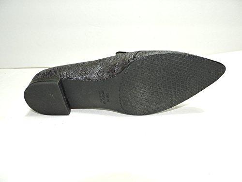 Stuart Weitzman Womens Pipelopez Grigio Apannato Abito Grigio Serpente Tacco Basso Slip On Shoes Size 7 Aa, N
