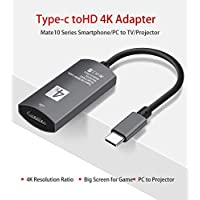 Oaky USB-C to HDMI Adapter for Samsung Note 9/S9/S9+/Surface Book 2, Samsung (Dex Mode) Dell XPS 13/15/Mate10 Chromebook Pixel