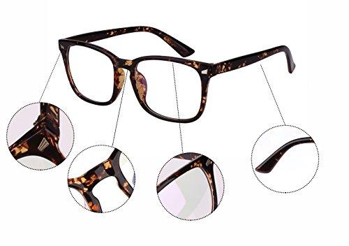 c5547c200cd Jual Agstum Classic Full Rim Plain Glasses Frame Eyeglasses Clear ...