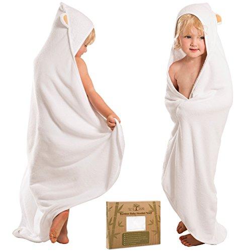 Tilly & Jasper - Extra Soft Bamboo Hooded Baby Towel I Antib