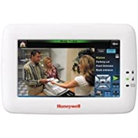 Honeywell Ademco TUXWIFIW Tuxedo Touch Controller w/ Wi-Fi, White (6280i) 7 Screen
