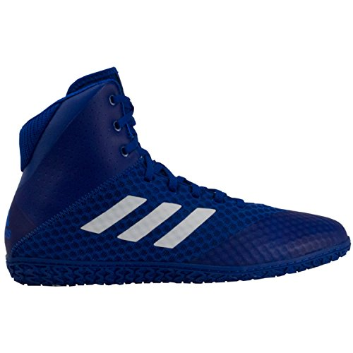 adidas Mat Wizard 4 Men's Wrestling Shoes, Royal/White, Size (The Mat Wrestling)