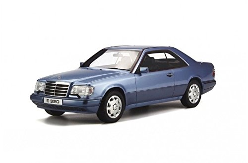 (Mercedes C124 E320 Coupe Blue Limited Edition to 2000pcs 1/18 Model Car by Otto Mobile OT682)