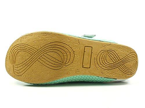Conti materiale 0025757 Zoccoli pelle Verde Donna Andrea zdgqTz