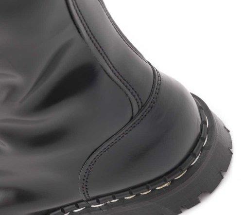 Eyelet Black Steel Boot 20 UK in Toe Made Gripfast FwTzPq