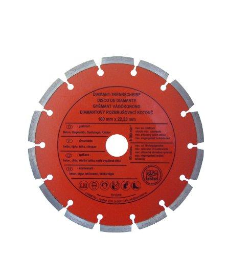 CON:P B23122 Diamant-Trennscheibe Beton, segmentiert, 180 mm