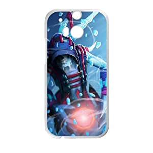 Defense Of The Ancients Dota 2 LICH HTC One M8 Cell Phone Case White ASD3851161