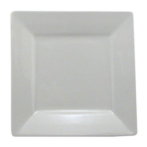- BIA Cordon Bleu Nouveau Square Rim Plate, White by BIA Cordon Bleu