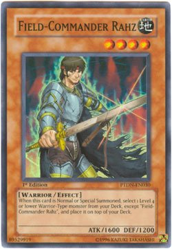 Yu-Gi-Oh! - Field-Commander Rahz (PTDN-EN030) - Phantom Darkness - 1st Edition - Super Rare
