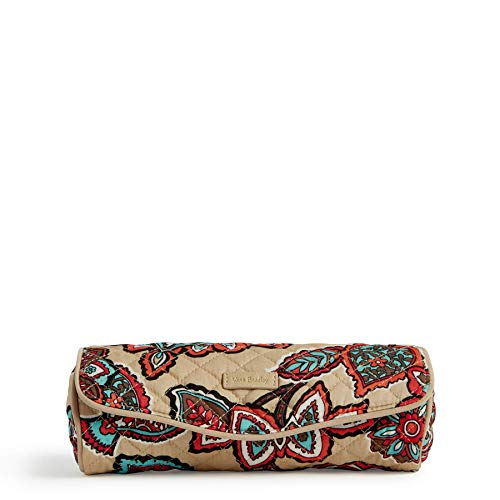 Hollywood Floral Jewelry - Vera Bradley Iconic on a Roll Case, Signature Cotton, Desert Floral