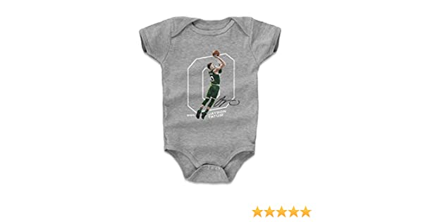 - Boston Basketball Baby Clothes 3-6, 6-12, 12-18, 18-24 Months Jayson Tatum Outline 500 LEVEL Jayson Tatum Baby Clothes /& Onesie