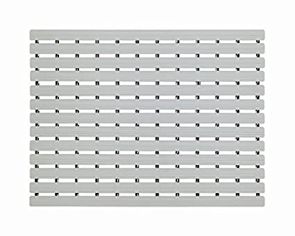 EUROTEX Plastic Anti Slip Skid Proof Mat (61x45cm, Grey)