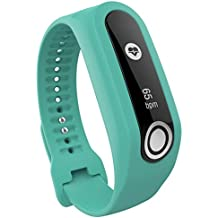 For TomTom Touch Cardio Activity Tracker, Fullfun Silicone Band Strap For TomTom Touch (Green)