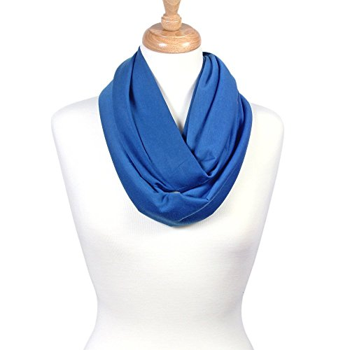 Scarfand's Super Soft Light Weight Solid Color Infinity Loop Scarf
