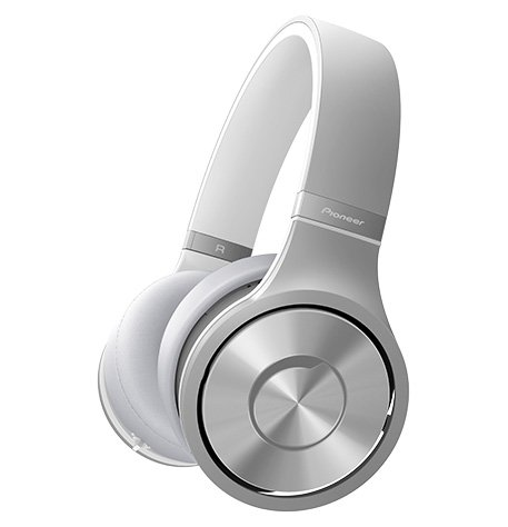 Pioneer SE-MX9 BRIGHT SILVER Headphone Superior Club Sound with high quality metal finish japan import (Ultrasone Silver Headphone)