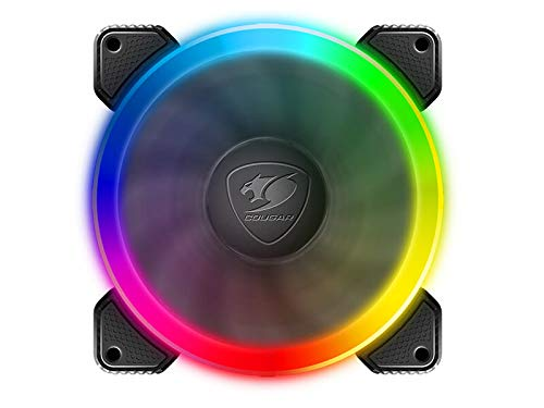 Cougar Hydraulic Vortex RGB FCB 120 mm Cooling Kit Included COUGAR Core Box C with Tri-Directional Lighting, RGB Effects and Motherboard Sync (3 Pack) by COUGAR (Image #2)