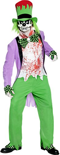 Smiffys Men's Bad Hatter Costume (Mad Hatter Costumes Australia)