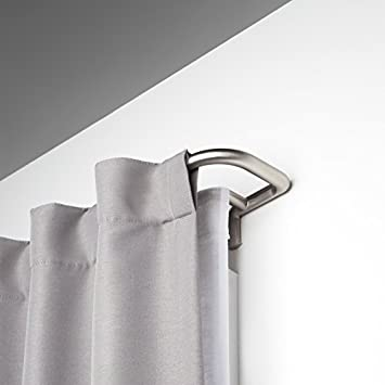 umbra twilight double curtain rod for window 88 to 144inch