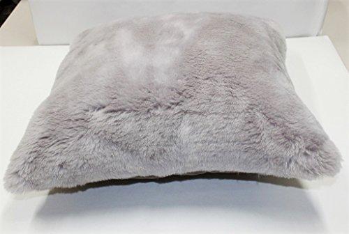FURFURMOUTON Genuine Australian Sheepskin Pillow cover 20 x 20 Sheep Wool, Throw Pillow Cover 20