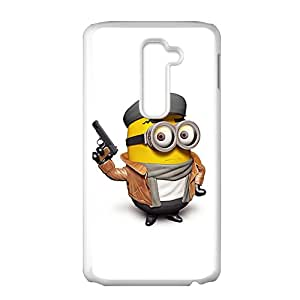 Police Minions Design Pesonalized Creative Phone Case For LG G2