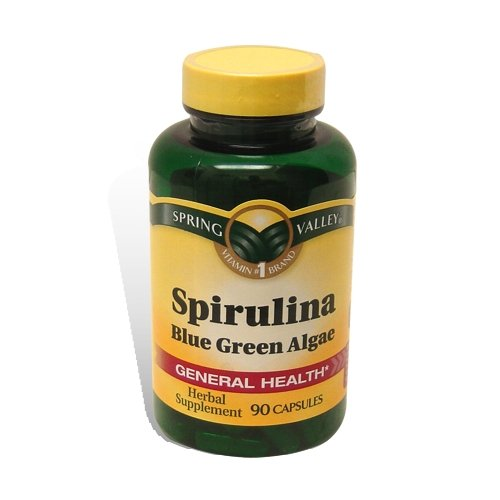 Spring Valley spiruline 90 capsules