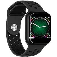 Relógio Inteligente SmartWatch F8 Monitor Cardíaco Monitor Sono Pressão Sangue iOS Android PRETO