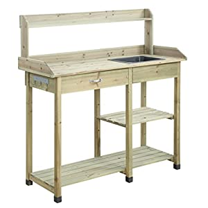 Convenience Concepts G10458N Deluxe Potting Bench