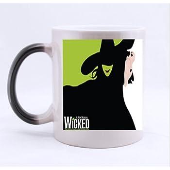 Amazon Com Wicked The Musical Broadway Morphing Mug