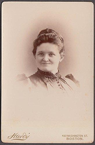 Aunt Anna Sullivan portrait cabinet by Hardy Boston 1880s