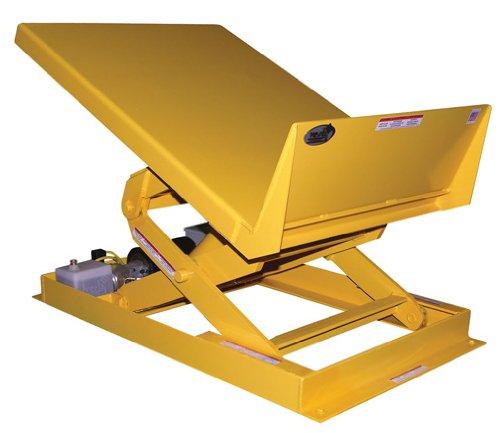 Beacon-Lift-Tilt-Workstation-Tables-Platform-Size-W-x-L-48-x-48-Capacity-6000-lbs-Cylinders-2-Maximum-Tilt-45-Degrees-Model-BULTT-4848-6