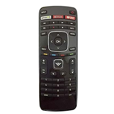 Smartby new remote XRT112 iHeart fit for VIZIO 2014 2015 Smart LCD LED TV with Amazon Netlix iHeart Radio App Key