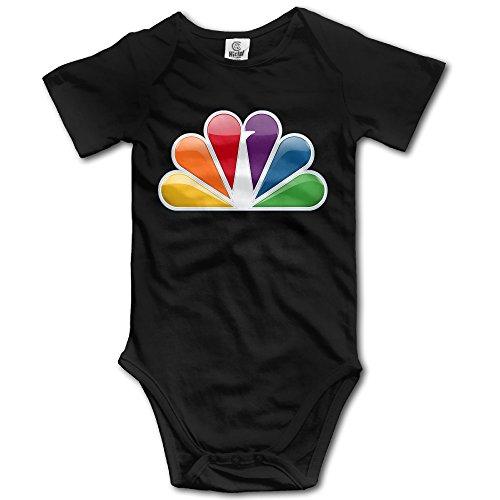 Uanla Broadcast Television N B C Brilliant 90 Years Unisex Infant Climbing Clothes Bodysuits Romper