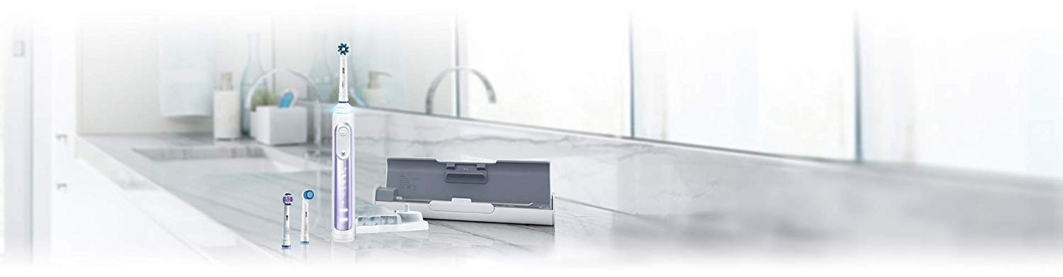 DiamondClean Smart Electric, Rechargeable Toothbrush for Complete? Smart Electric Charging Toothbrush, Toothbrush Rechargeable Electric Toothbrush with Charged 4 Hours at Least 30 Days Use with
