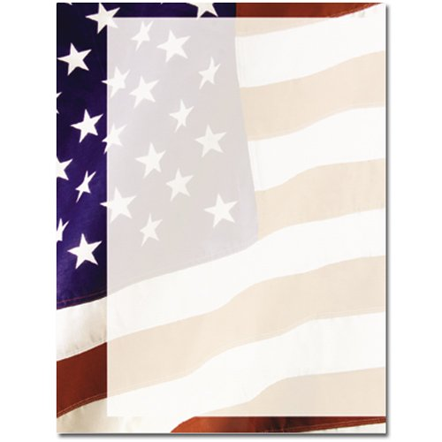 Old Glory Laser and Inkjet Printer Paper, 100 Pack