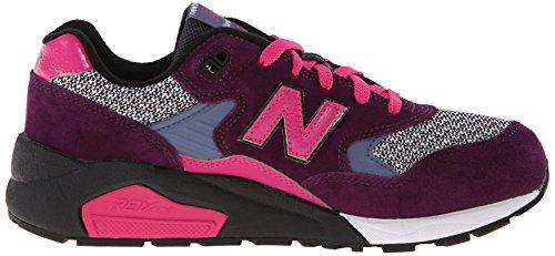 New Balance Dames Wrt580 Klassieke Sneaker Grijs / Paars