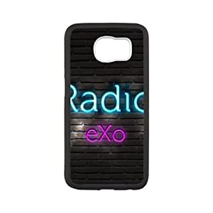 radio exo Samsung Galaxy S6 Cell Phone Case Black Customized Gift pxr006_5325729