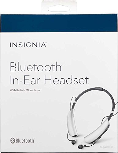 Insignia NS-CAHBTEB01 Bluetooth Headphone Gray